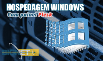 hospedagem WINDOWS PLESK